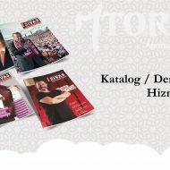Gazete / Dergi ve Katalog Tasarımı